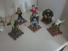 7 Harry Potter collectible figurines The Hero Series by ENESCO with story scopes