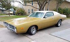 1972 Dodge Charger Hardtop SE