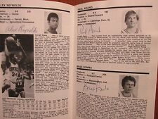 1980 Cornell Mens Basketball Guide(15 Signers/TOM MILLER/MIKE ALLEN/DENNIS DOYLE