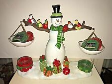 Yankee Candle Snowman Musical (Wish you a Merry Christmas) Tart Warmer