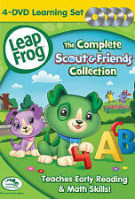 Leapfrog: The Complete Scout & Friends Collection New DVD!FREE SHIPPING
