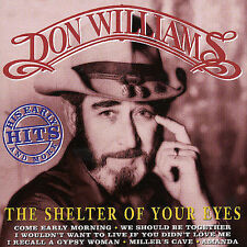 DON WILLIAMS - SHELTER OF YOUR EYES - CD