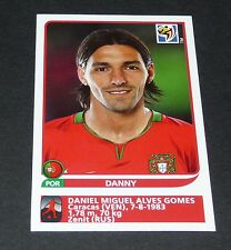 557 DANNY ZENIT PORTUGAL EXTRA-STICKER PANINI FOOTBALL FIFA WORLD CUP 2010