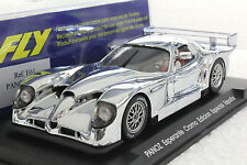 FLY E61 PANOZ ESPERANTE GTR1 ESPANA SPECIAL CHROME EDITION NEW 1/32 SLOT CAR