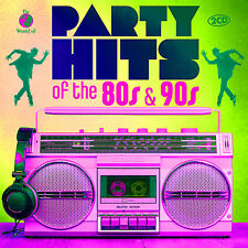 CD Partyhits Of The 80s & 90s von Various Artists  2CDs