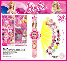 Fashion Fun Cute Kids Girl Barbie Projection Watch Party Christmas Toy Gift