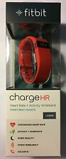 Fitbit Charge HR Red L New In Sealed Box 28/12/2016