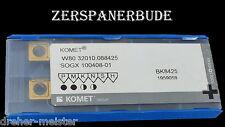 10 Wendeplatten W80 32010.088425 SOGX 100408-01 BK8425 KOMET