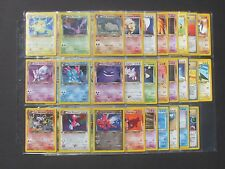 Pokemon COMPLETE NEO DESTINY SET 111/105 - SHININGS - 1ST EDITIONS - (NM)