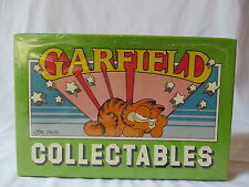 Garfield Collectables Cardboard Trinket Box 1978 NEW SEALED!!