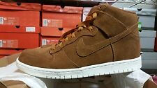 New Nike Dunk High sz 13 Light Tan White bison wheat paul brown sb red hazelnut