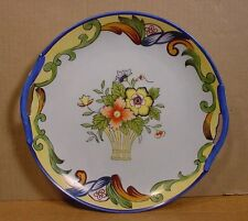 Antique Noritake Hand Painted Cake Plate Japan/ Early 1918 Mark