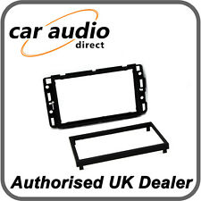 Connects2 CT24CD02 Black Double Din Facia Adaptor Frame Kit for Cadillac BLS