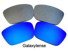 Galaxy Lentes De Repuesto Para Oakley Fuel Cell azul y titanio Color Polarizados