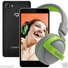 Reach Cogent N+ (1GB+ 8GB, Quad-core, Android 5.1) (With Headphone worth Rs 999)