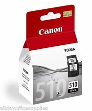 Original Canon PG510 Black Ink Cartridge for Pixma MP495 Printers UK VAT INC
