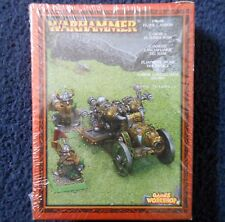 2000 Dwarf Flame Cannon Siege Engine Citadel Fire Warhammer Army War Machine MIB