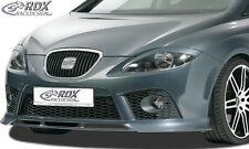RDX SPOILER ANTERIORE SEAT LEON 1p FR CUPRA -09 Spoiler Labbro Approccio FRONT ANTERIORE ABS