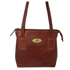 50% Off Rowallan Leather Shoulder Bag, Small