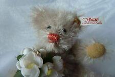 Steiff Ewiger Kalender Teddybär Teddy Bär mit Schneeglöckchenstrauß Kalenderbär