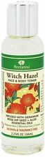 Witch Hazel Face & Body Toner, BRETANNA, 2.25 oz Geranium Rose Hip & Aloe