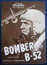 Filmprogramm IFB 4155  Bomber B-52  Karl Malden , Natalie Wood , Marsha Hunt
