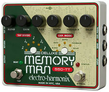 Electro-Harmonix Deluxe Memory Man Analog Delay with Tap Tempo 550 ms
