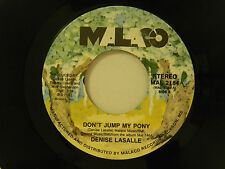 Denise Lasalle 45 DON'T JUMP MY PONY / DON'T PICK IT UP ~ Malaco VG++