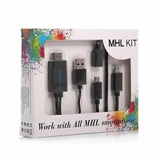 Micro USB To HDMI MHL 1080P Cable Adapter HDTV for All MHL smartphone
