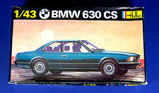 HELLER BMW 630 CS 1/43 Scale Model Kit #166 SEALED PARTS!