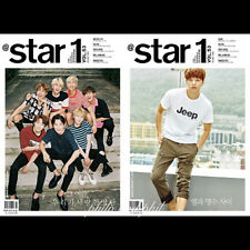 @STAR1 At Style Korea Magazine August 2016 Bangtan Boys BTS Infinite L DBL COVER