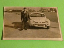 VIINTAGE PHOTO - RENAULT DAUPHINE ONDINE GORDINI - FOTO ANTIGUA COCHE CAR SPAIN