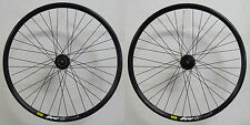 "Shimano RM66 Mavic XM319 Dischi Set Ruote Da Corsa MTB 28"" 29"" nero Center Lock"