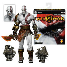 "7"" ULTIMATE KRATOS figure GOD OF WAR III 3 playstation GHOST OF SPARTA ps NECA"