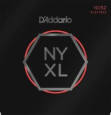 D'Addario Guitar Strings  NYXL 1052  Electric  Light Gauge 10-52