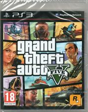 GRAND THEFT AUTO JUEGO DE V PS3 (GTA 5) ~ NEW / SEALED