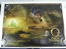 Oz The Great and Powerful (wizard of) Original Film / Movie Poster Quad 76x102cm