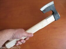 COMPACT WOODWORKING CAMPING HIKING BUSHCRAFT SPLITTING VIKING STEEL AXE HATCHET