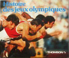 Histoire des Jeux Olympiques - Livre collector THOMSON - Sous forme de BD - 1980