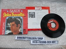 "7"" Pop John Travolta - Sandy / Can't Let You Go POLYDOR / MIDSONG Presskit"