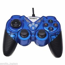 New Quantum USB Game Pad with Turbo Function Model QHM7487-2V-C Gamepad