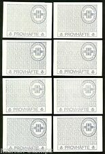 SWEDEN  LOT OF 9 BOOKLETS & 4 STRIPS OF 10 STAMPS ALL COMPLETE MINT NH