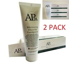 2 X Nu Skin Ap-24 Whitening Fluoride Toothpaste Mint - FULL SIZE 110g 2 PACK UK