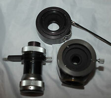 Zeiss Tessovar Zwischentubus mit Einstellokular f. Mikroskop und bes. Okular