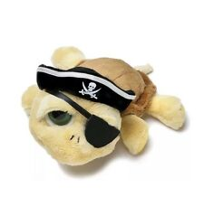 """RUSS BERRIE LIL PEEPERS SHELLY PIRATE 6"""" STUFFED PLUSH CUTE ADORABLE RARE NEW"""