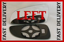 VAUXHALL ASTRA H SPORT 2004-2008 DOOR WING MIRROR GLASS CLIP ON  LEFT