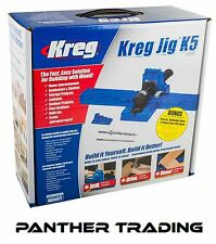 Kreg Jig® K5 Hole Joinery Kit Woodwork Joint Clamping Carpentry Tool - 228458