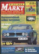 Oldtimer Markt 11/1995 Honda Goldwing Triumph TR 2 3 VW Käfer Opel Dodge Laverda