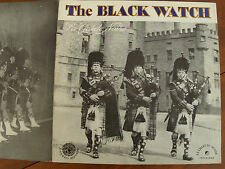 THE BLACK WATCH : LA GARDE NOIRE, Canadian Pipe & drum tunes LP FOLKWAYS 1960s