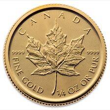 1/4 Oz Maple Leaf Gold 2017 viertel Unze Goldmünze Royal Canadian Mint 9999